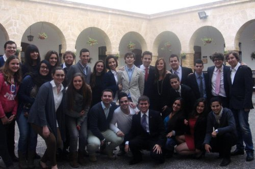 Convivencia Grupo joven Hdad. Medinaceli y Despojado