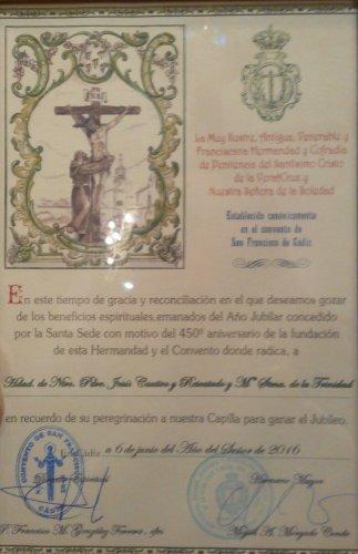 Bendición Solemne con la Reliquia del Santo Lignum Crucis